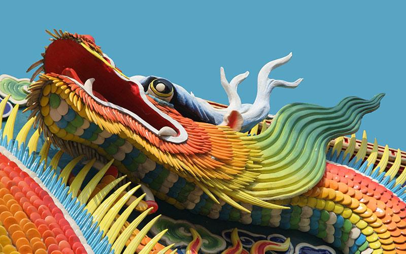 عکس نماد کشور چین