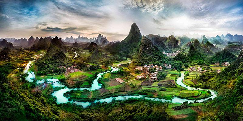 رودخانه لی | بهترین جاذبه های گردشگری چین