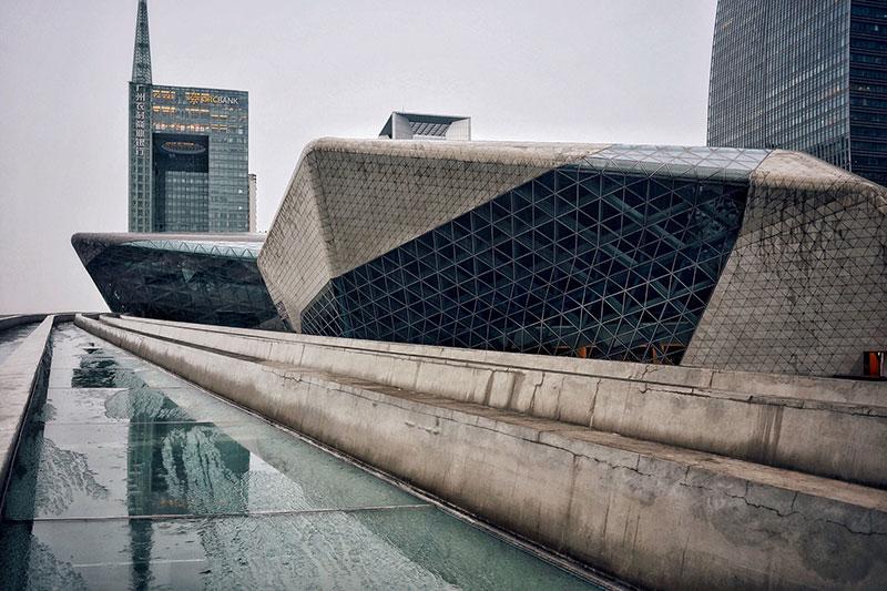 معماری مدرن چین