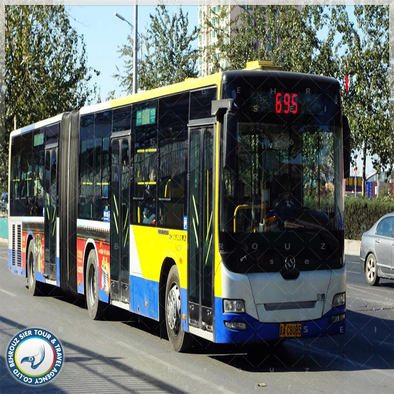 اتوبوس حمل و نقل عمومی در پکن بهروزسیر