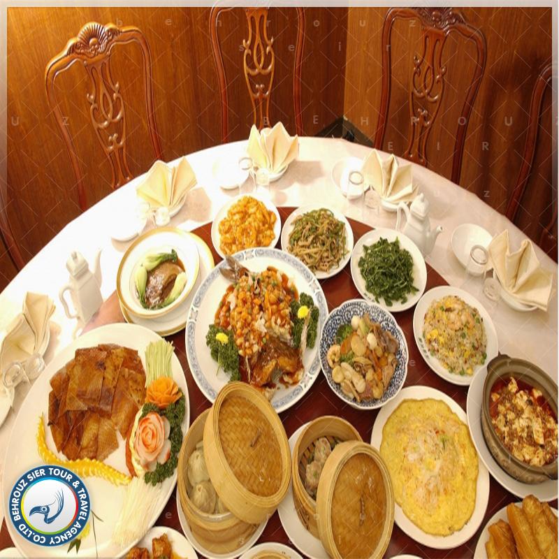 رستوران در تور چین بهروزسیر