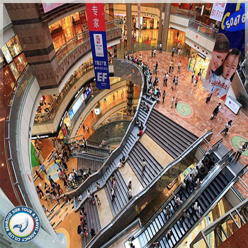 مراکز خرید شانگهای در چین بهروزسیر