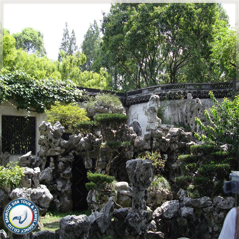 باغ یو (Yu Garden) در شهر شانگهای بهروزسیر