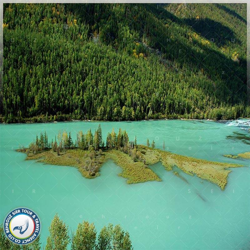 دریاچه-کاناس-در-ژین-جیانگ-2-بهروزسیر