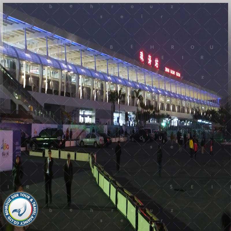 سیستم حمل و نقل در شهر ژوهای چین