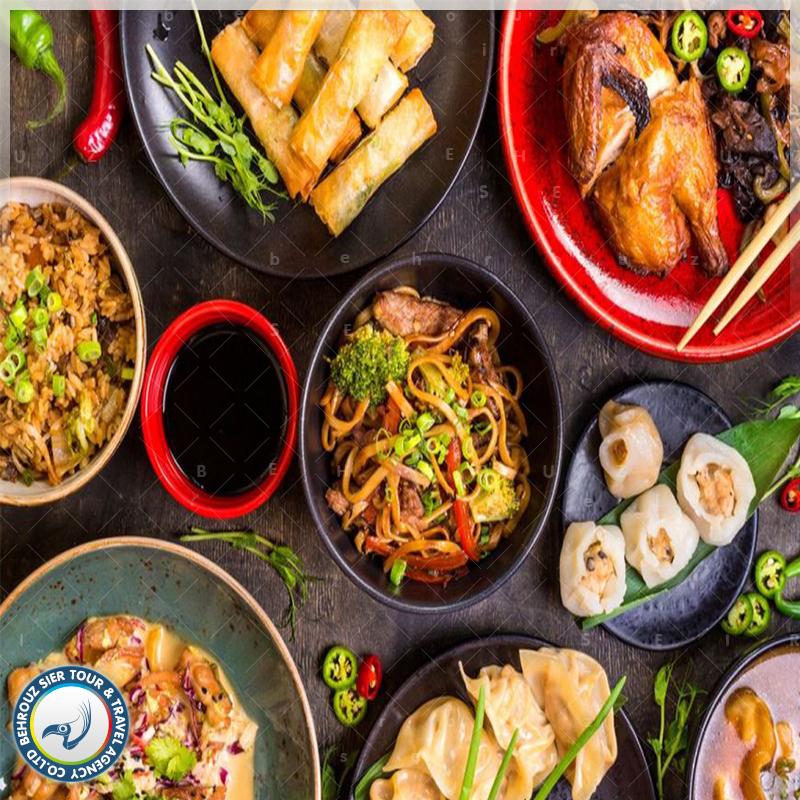 غذای چینی بهروزسیر