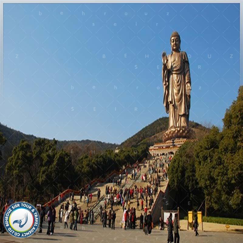 مجسمه غول پیکر بودا بهروزسیر