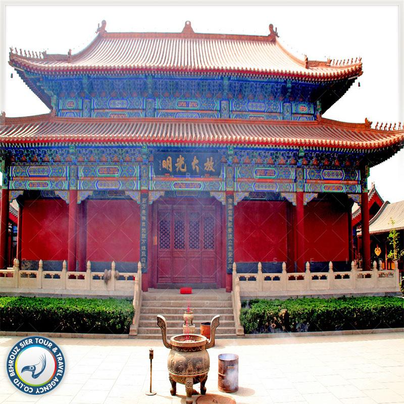 معبدهای معوف چین بهروزسیر