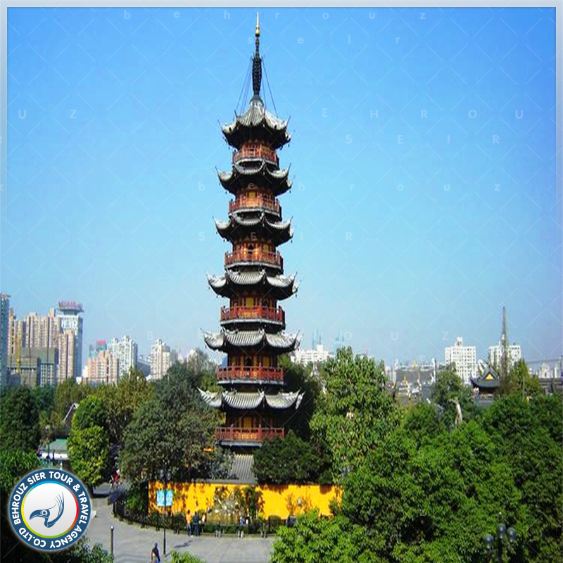 معبد لونگ هوا شانگهای بهروزسیر