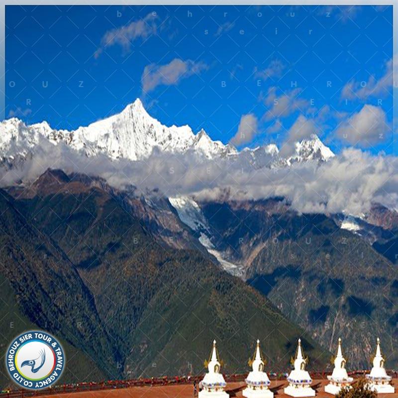 کوهستان-برفی-مِیلی-چین-بهروزسیر