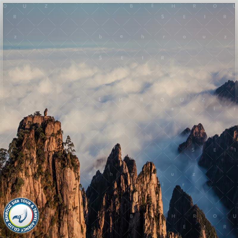 کوهستان-هوآنگ-شان-چین-بهروزسیر