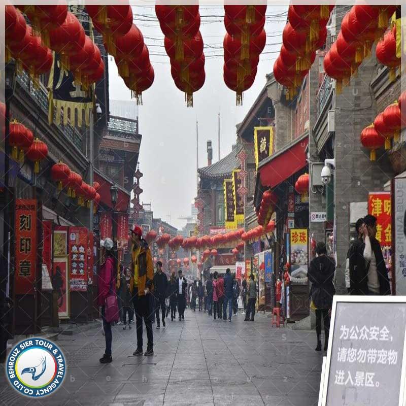 جاذبه-های-گردشگری-شهر-تیان-جین-بهروزسیر