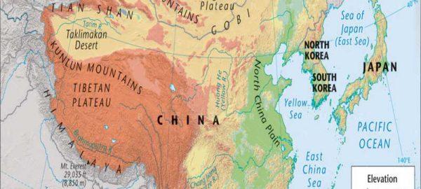 جغرافیا-و-آب-و-هوای-کشور-چین-بهروزسیر