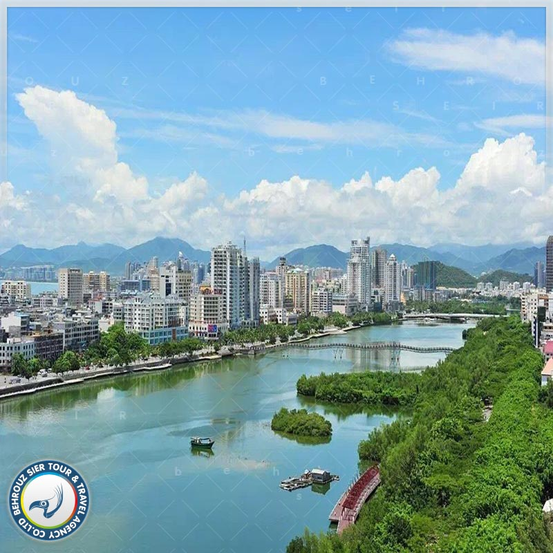 شهر سانیا چین، پایان آسمان و اقیانوس