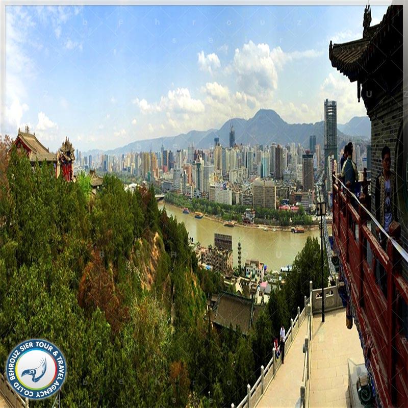 شهر لانژو چین Lanzhou، برنده جایزه فرایندهای آب و هوایی