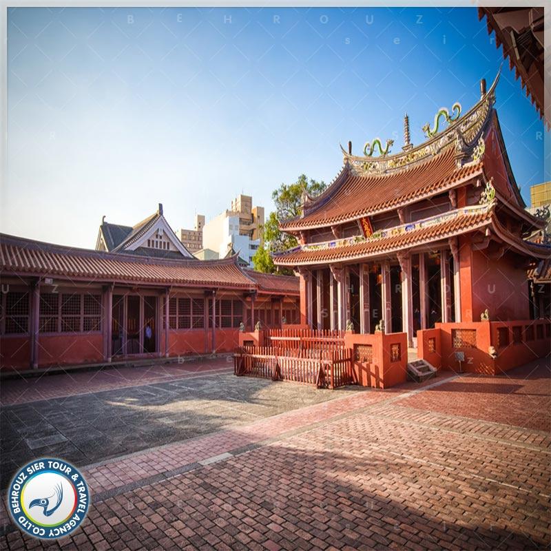 معماری-بنای-معبد-کنفوسیوس-بهروزسیر