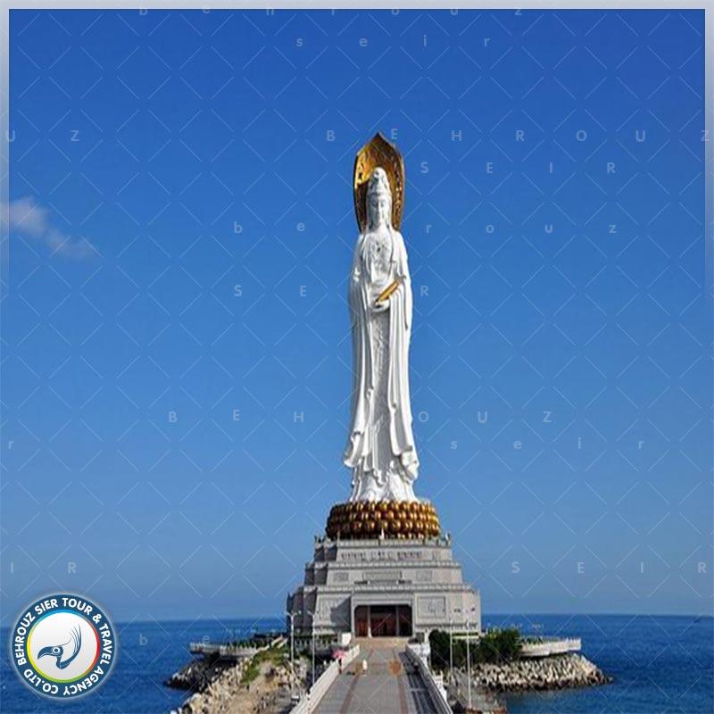 مجسمه بزرگ بودا در گوآن یین (Guan Yin) سانیا