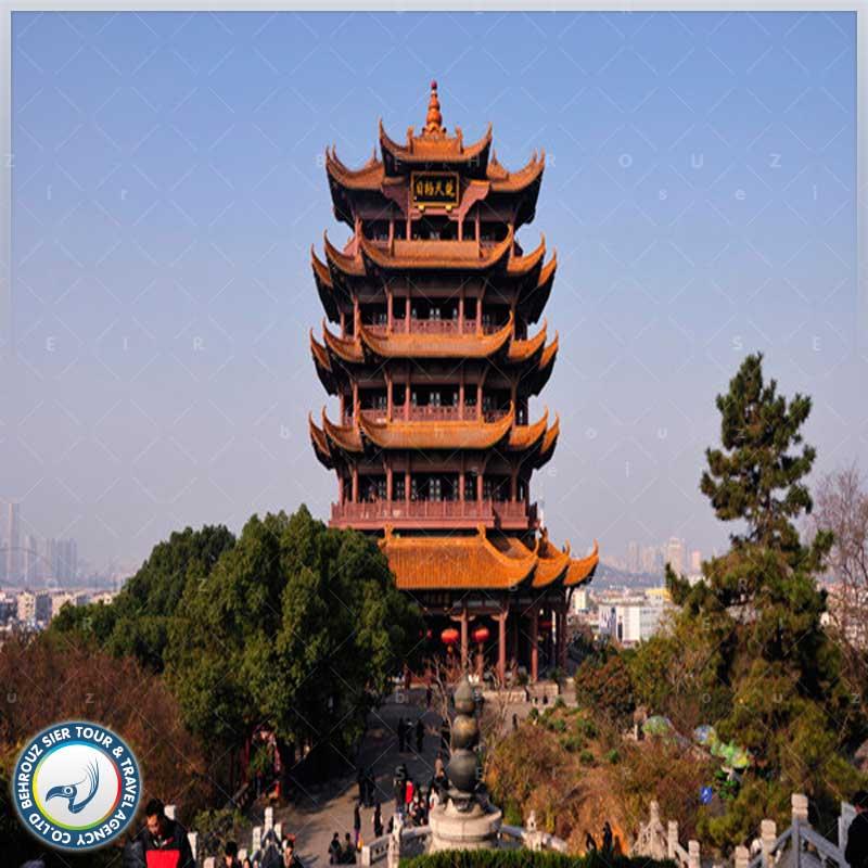 برج-زرد-در-کشور-چین-بهروزسیر