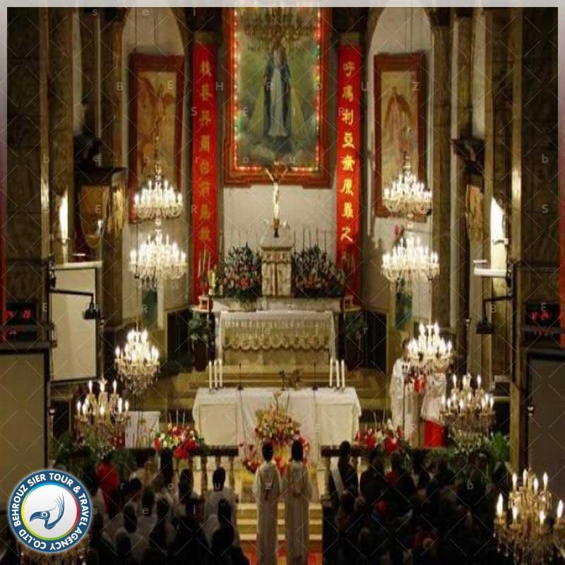 مراسم-به-کلیسا-چین-بهروزسیر