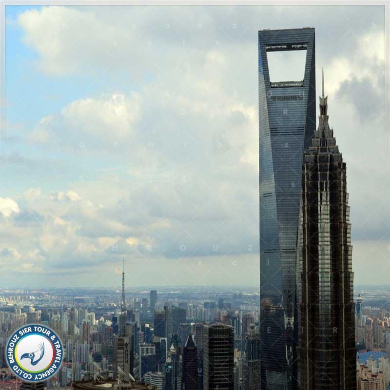 معماری-ساختار-برج-مرکز-سرمایه-گذاری-جهانی-در-شانگهای-بهروزسیر