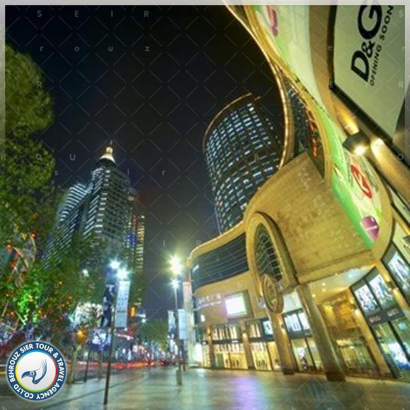 موقعیت-جاده-هوآی-های-در-شهر-شانگهای--بهروزسیر