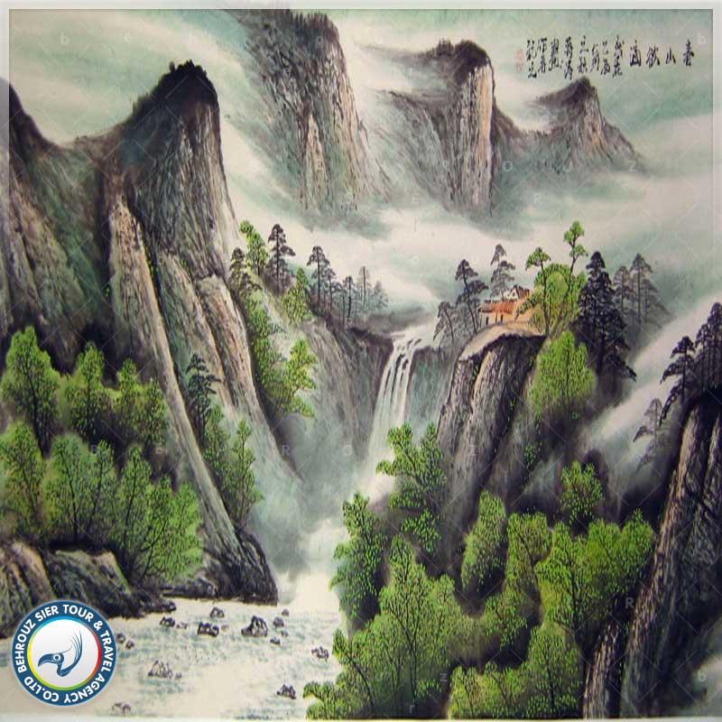 نقاشی-چین-بهروزسیر