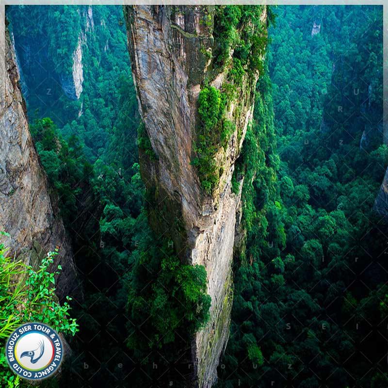 تاریخ-پارک-جنگلی-ژانگ-جیاجی--بهروزسیر