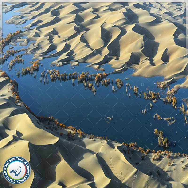 موقعیت-جغرافیایی-و-شرایط-آب-و-هوایی-رودخانه-تاریم2---بهروزسیر