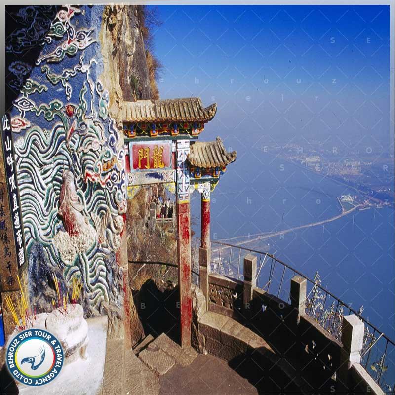 موقعیت جغرافیایی شهر کونمینگ چین