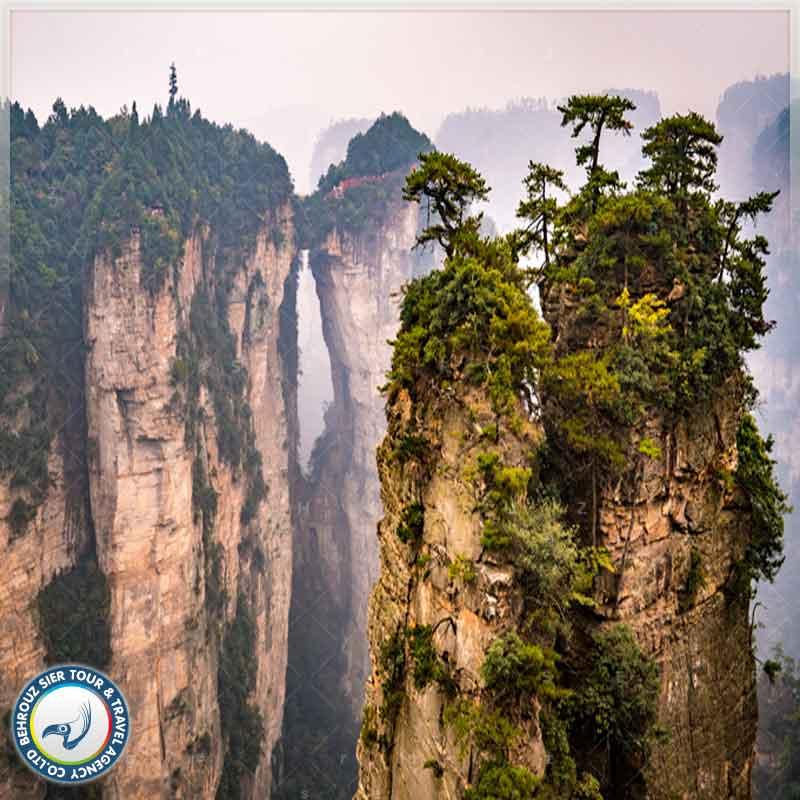 زمین شناختی پارک جنگلی ژانگجیاجی