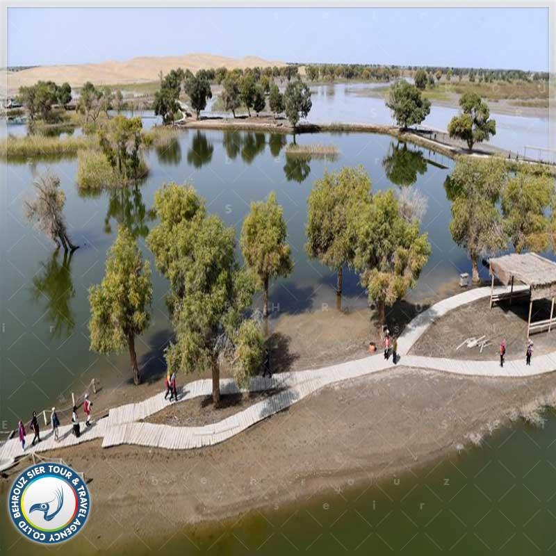 رودخانه تاریم -- بهروزسیر