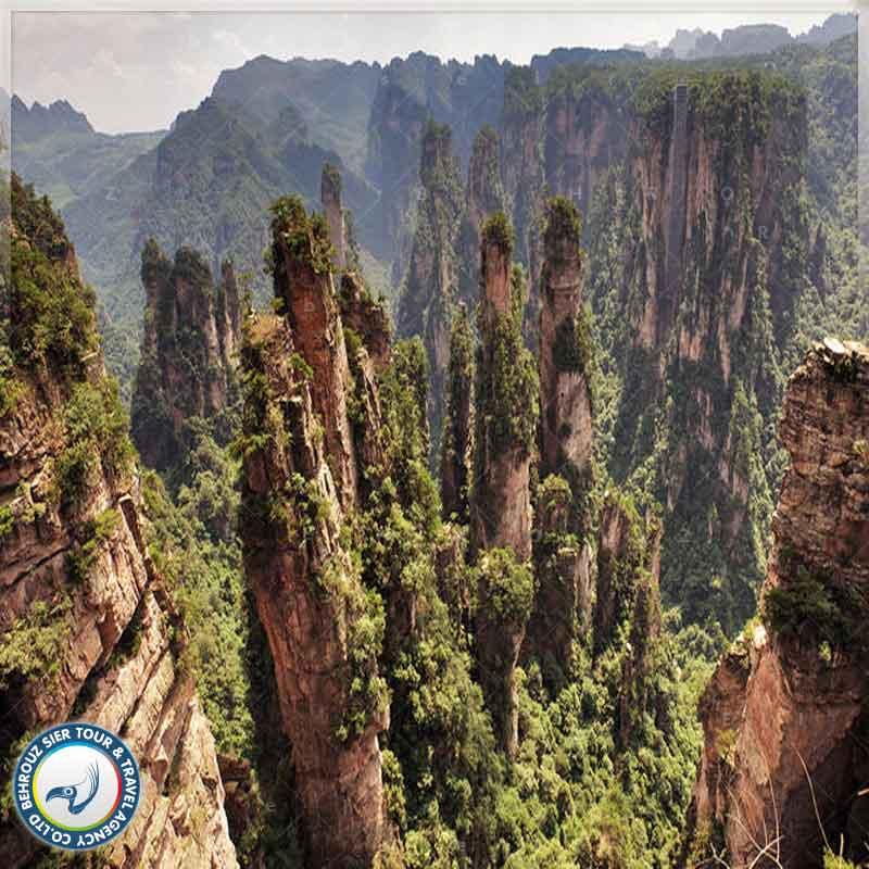 ویژگی-جغرافیایی-پارک-جنگلی-ژانگ-جیاجی-بهروزسیر