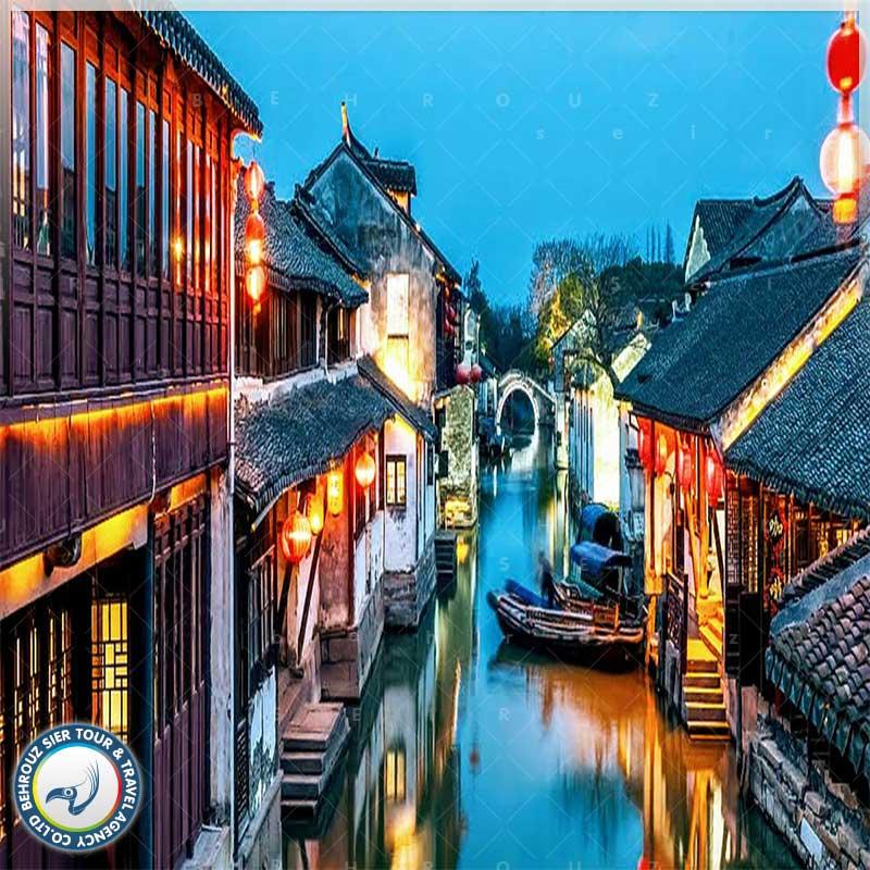 شهر آبی ژوژوآنگ (Zhouzhuang Water Town) در شهر سوژو چین