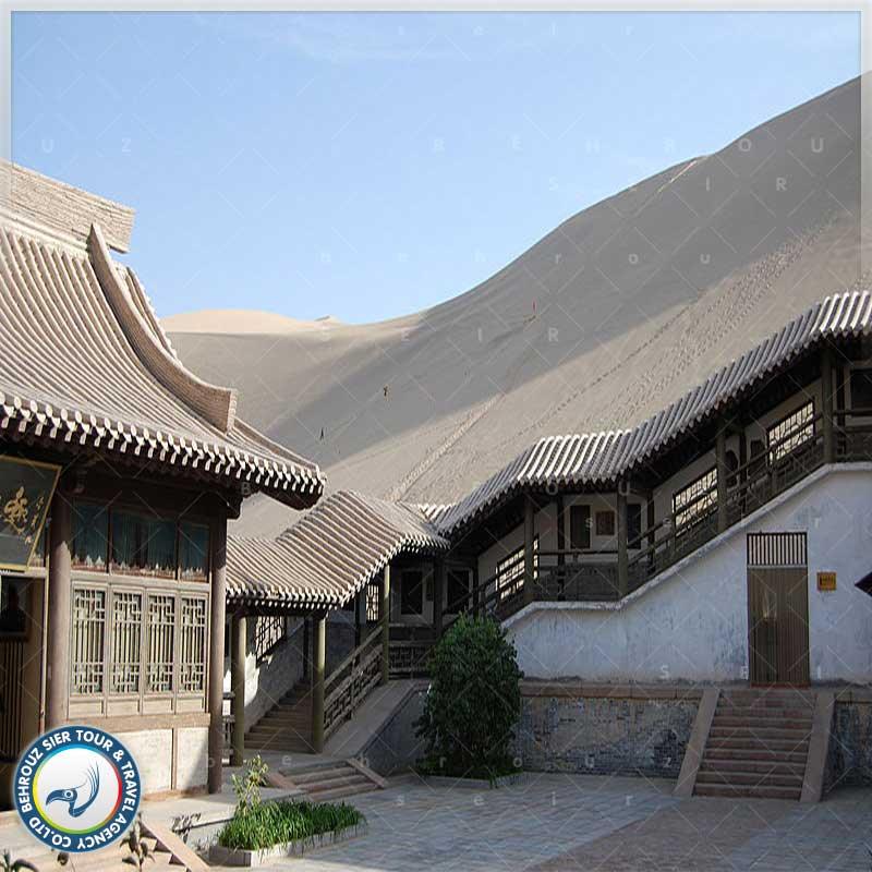شهر دون هوانگ چین پر از غارهای بودایی بهروزسیر