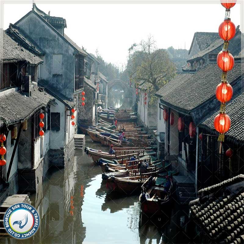 شهر سوژو چین - شهر آبی و شناور چین بهروزسیر