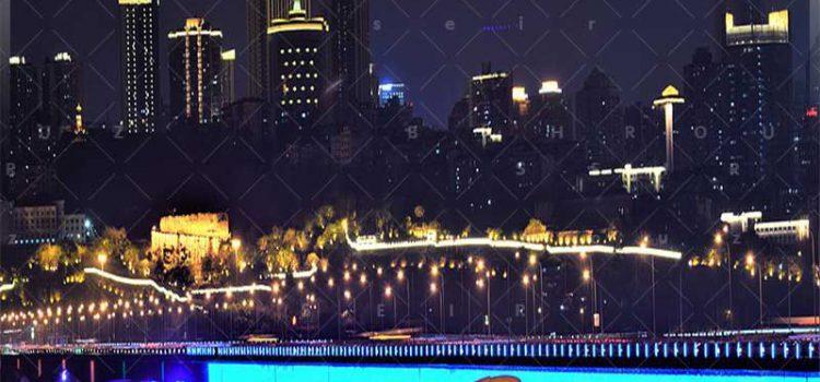 شهر-چونگ-کینگ-در-شب--بهروزسیر