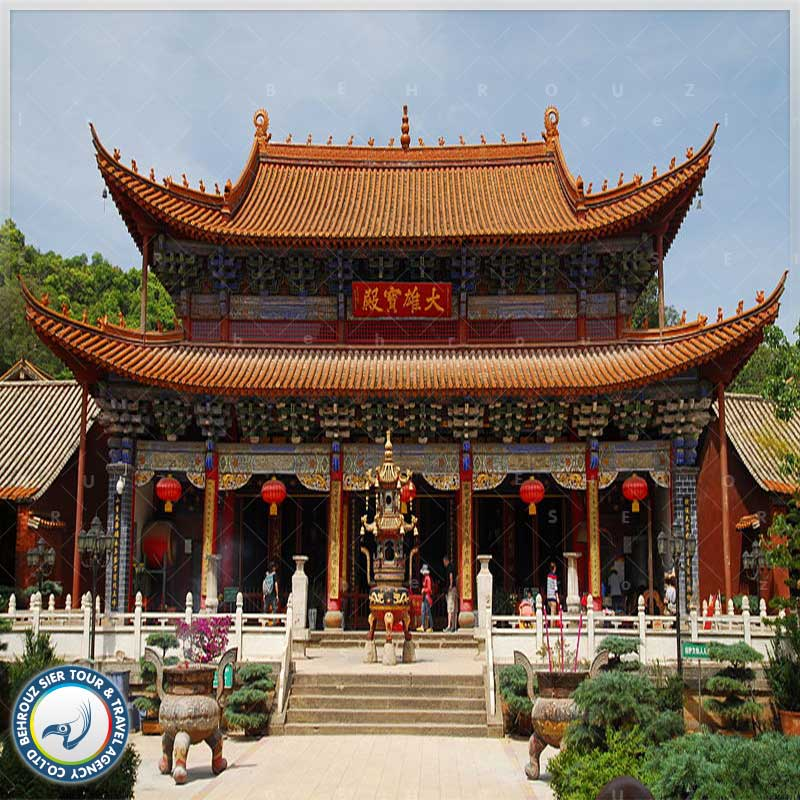 معبد-کیونگ-ژو--شهر-کان-مینگ---بهروزسیر