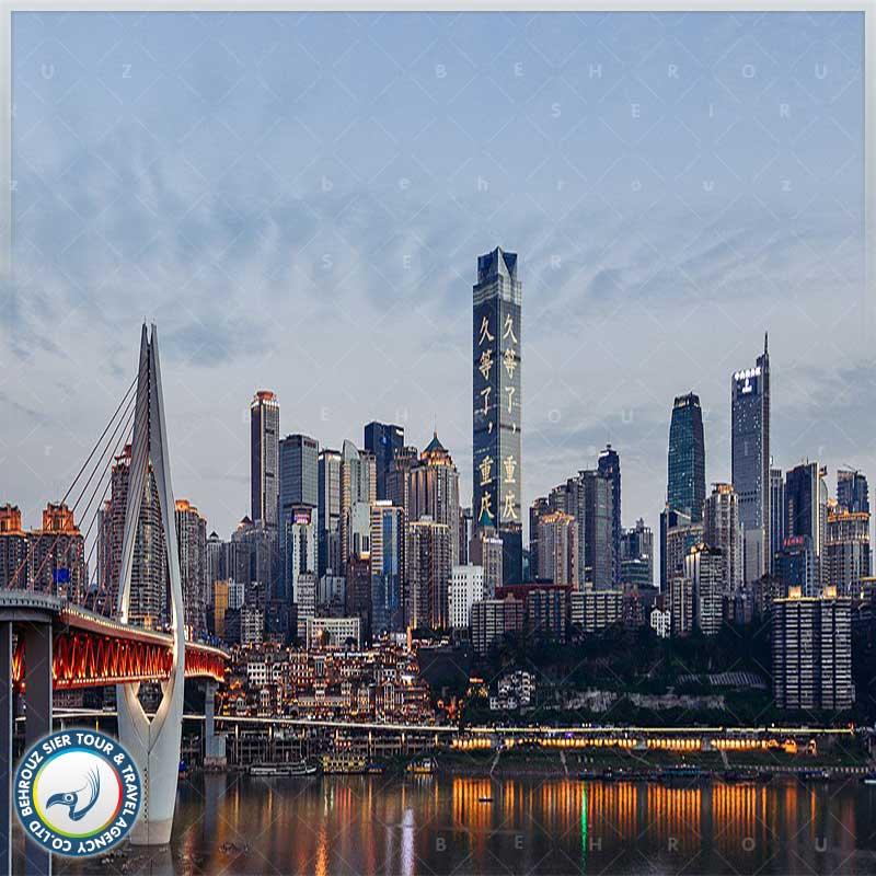موقعیت-جغرافیایی-شهر-چونگ-کینگ---بهروزسیر