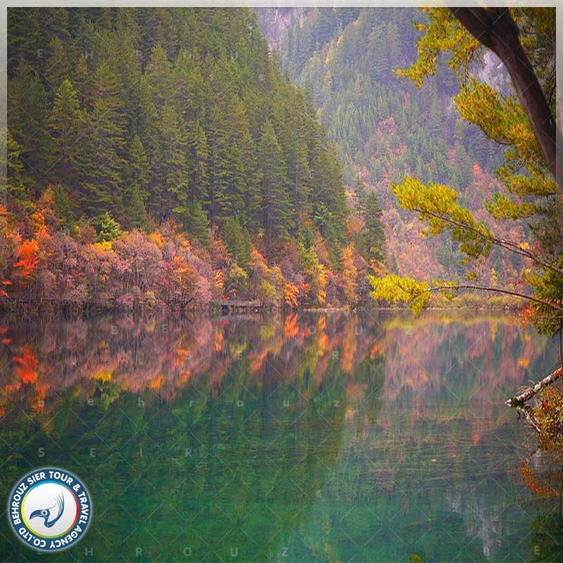 موقعیت-جغرافیایی-و-شرایط-آب-و-هوایی-پارک-ملی-جیوژای-گو-بهروزسیر