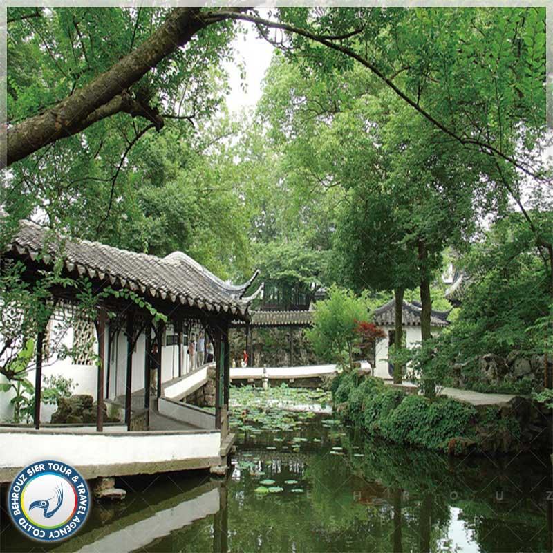 باغ هامبل Humble Gardenیا ژو ژنگ یوآن Zhuo Zheng Yuan