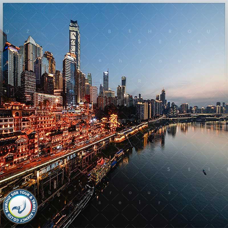 شهر چونگ کینگ چین ، شهری پر از هیاهوی گردشگران بهروزسیر