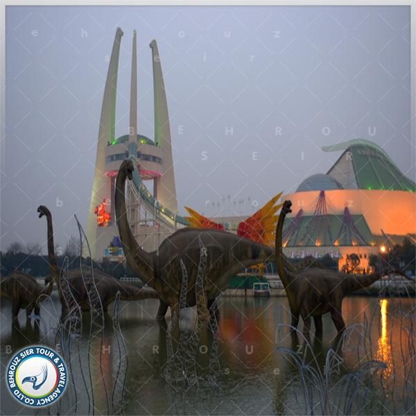 پارک دایناسورها در چانگژو؛ Changzhou Dinosaur Park
