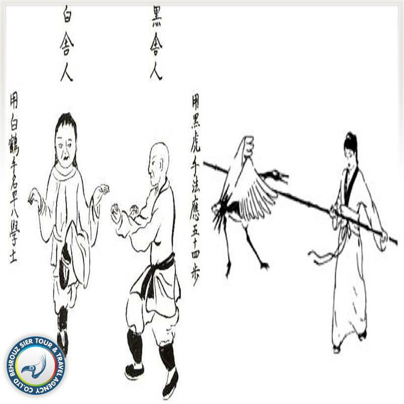 Fujian-White-Crane-بهروزسیر