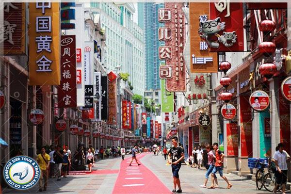 خیابان-شانگ-ژیا-جو-مرکز-خرید-چین-بهروزسیر