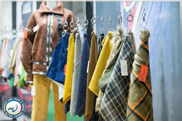 محصولات-و-غرفه-داران-در-نمایشگاه-پارچه-و-پوشاک-شانگهای-بهروزسیر