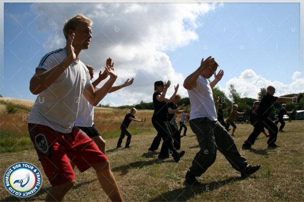 هنگام-انجام-هنر-رزمی-چیگانگ-چین-بهروزسیر