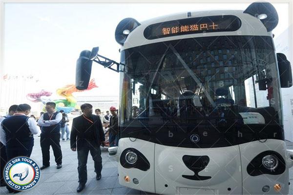 اتوبوس هوشمند پاندا برتر این محصول شرکت DeepBlue