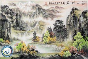 تکنیک-های-هنر-نقاشی-در-چین-بهروزسیر