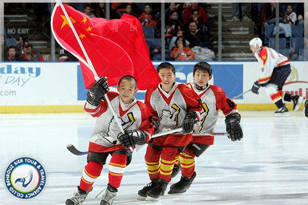 کودکان-هاکی-روی-یخ-در-چین-بهروزسیر