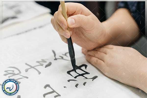 خوشنویسی به سبک چینی